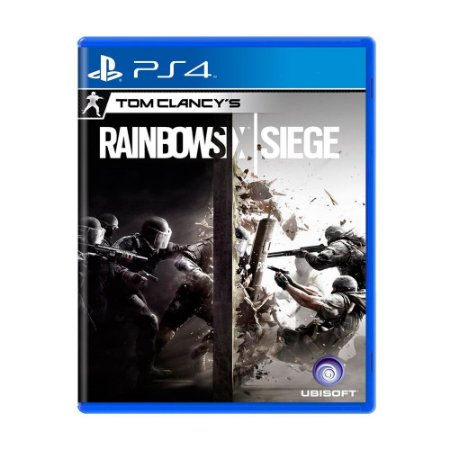 Jogo Tom Clancy's: Rainbow Six Siege - PS4