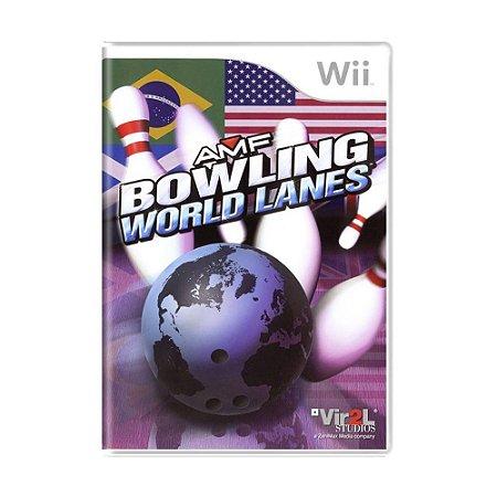 Jogo AMF Bowling World Lanes - Wii