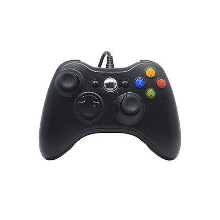 Controle Inova Preto Com Fio - Xbox 360
