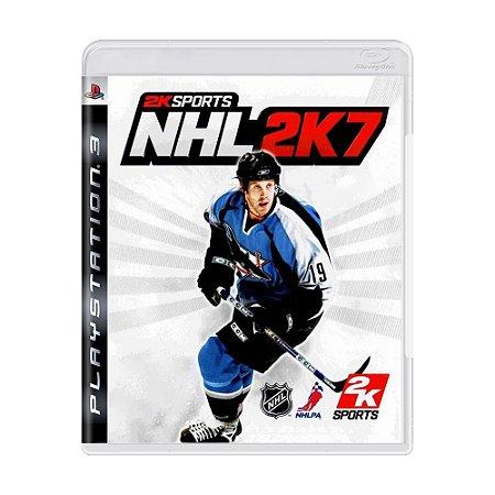Jogo NHL 2K7 - PS3