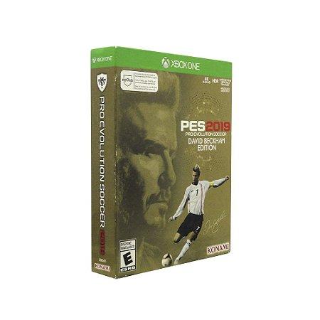 Jogo Pro Evolution Soccer 2019 (David Backham Edition) - Xbox One