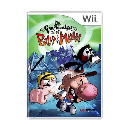 Jogo The Grim Adventures of Billy & Mandy - Wii
