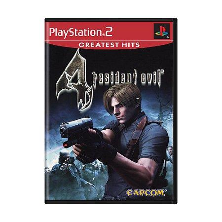 Jogo Resident Evil 4 - PS2