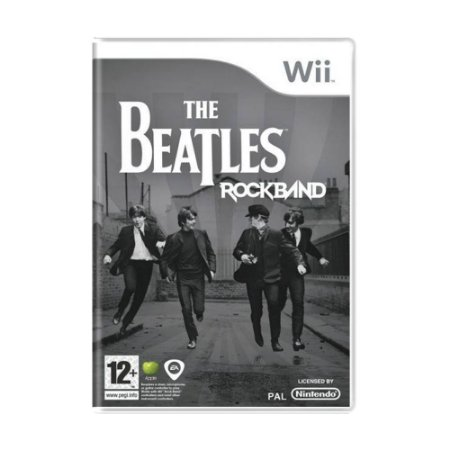 Jogo The Beatles: Rock Band - Wii (Europeu)