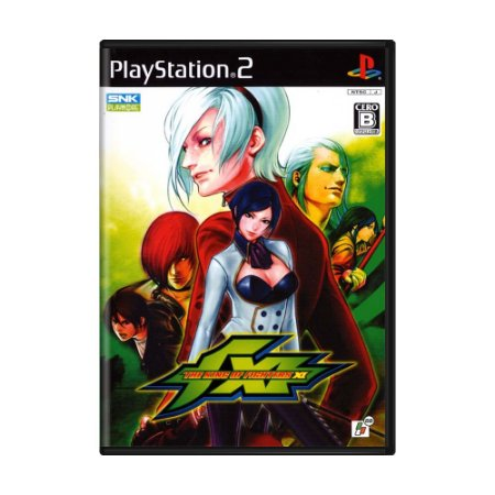 Jogo The King of Fighters XI - PS2 (Japonês)