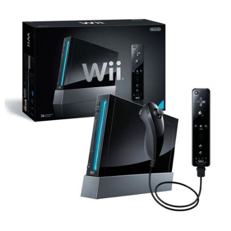 Console Nintendo Wii Preto - Nintendo (Japonês)