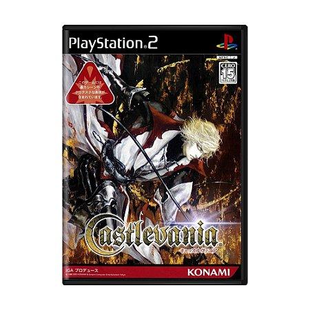 Jogo Castlevania: Lament of Innocence - PS2 (Japonês) (Sem Capa)