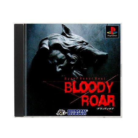 Jogo Bloody Roar - PS1 (Japonês)