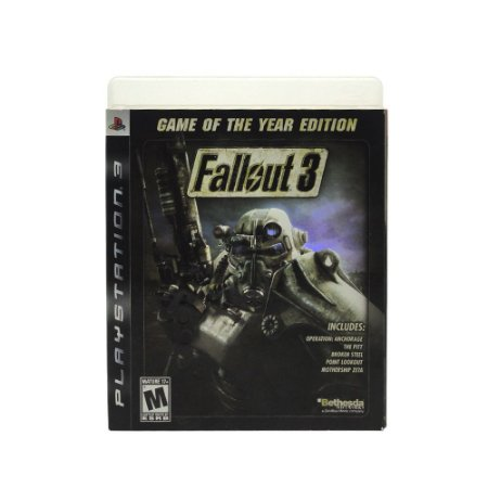 Jogo Fallout 3 (Game of the Year Edition) - PS3