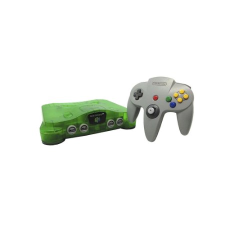 Console Nintendo 64 Verde (Série Multi-sabores: Kiwi) - Nintendo