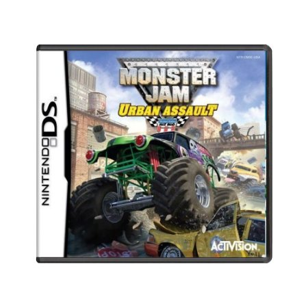 Jogo Monster Jam: Urban Assault - DS