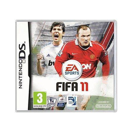 Jogo FIFA 11 - DS (Europeu)