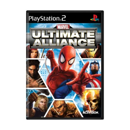 Jogo Marvel: Ultimate Alliance - PS2