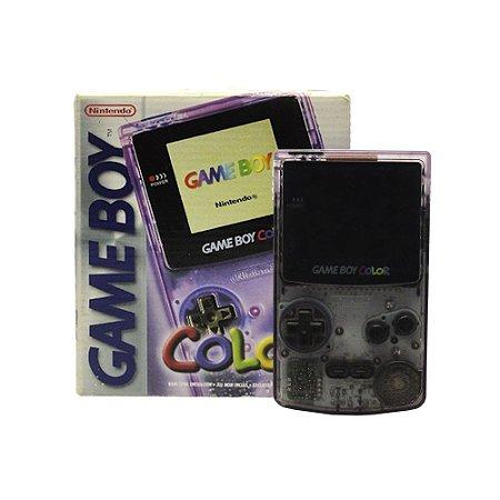 Console Game Boy Color Roxo - Nintendo