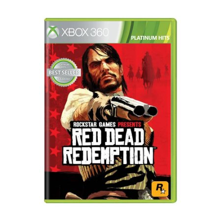 Jogo Red Dead Redemption - Xbox 360 (Lacrado)