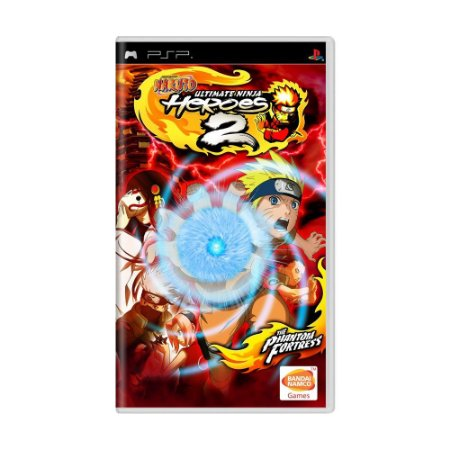 Jogo Naruto: Ultimate Ninja Heroes 2: The Phantom Fortress - PSP (Lacrado)
