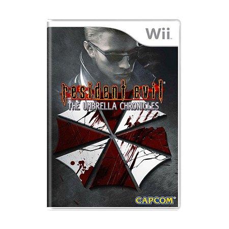 Jogo Resident Evil: The Umbrella Chronicles - Wii (Lacrado)