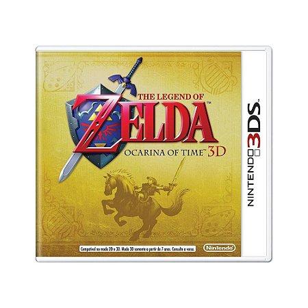 Jogo The Legend of Zelda: Ocarina of Time 3D - 3DS (Lacrado)