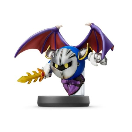 Nintendo Amiibo: Meta Knight - Super Smash Bros - Wii U, New Nintendo 3DS e Switch