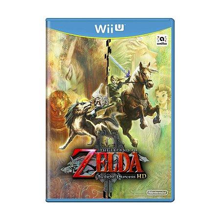 Jogo The Legend of Zelda: Twilight Princess HD - Wii U (Lacrado)