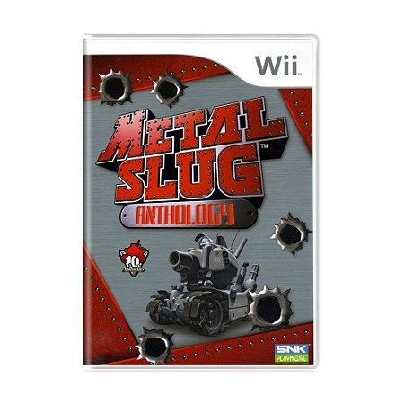 Jogo Metal Slug Anthology - Wii (Lacrado)