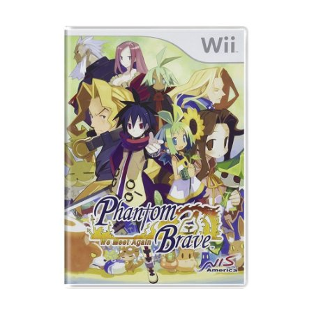 Jogo Phantom Brave: We Meet Again - Wii (Lacrado)