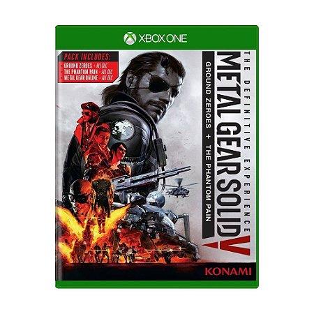 Jogo Metal Gear Solid V (The Definitive Experience) - Xbox One (Lacrado)