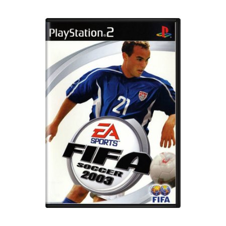Jogo FIFA Soccer 2003 - PS2