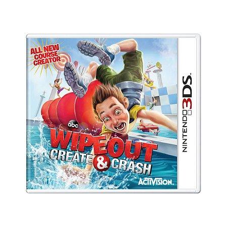 Jogo Wipeout: Create & Crash - 3DS
