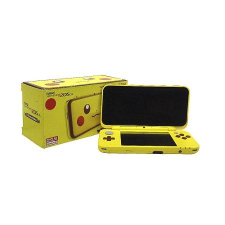 Console New Nintendo 2DS XL (Edição Pikachu) - Nintendo