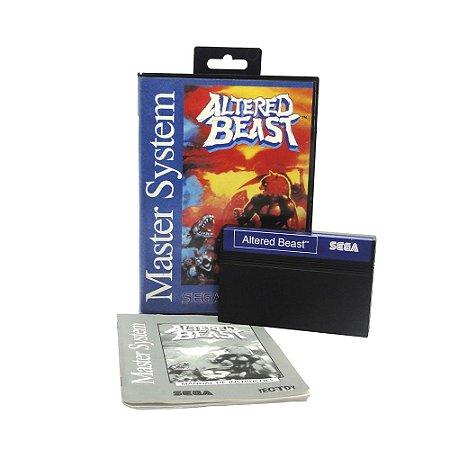 Jogo Altered Beast - Master System