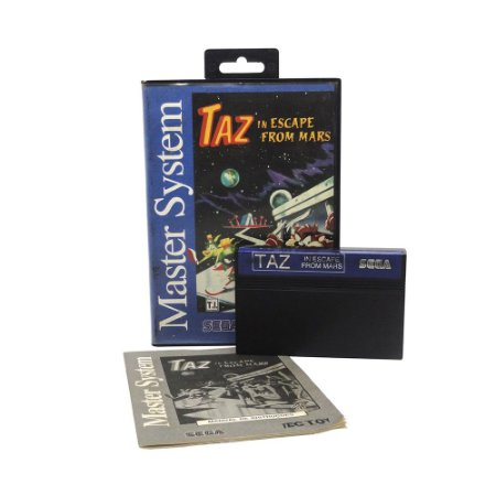 Jogo Taz in Escape From Mars - Master System