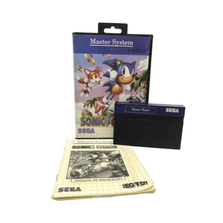 Jogo Sonic the Hedgehog Chaos - Master System