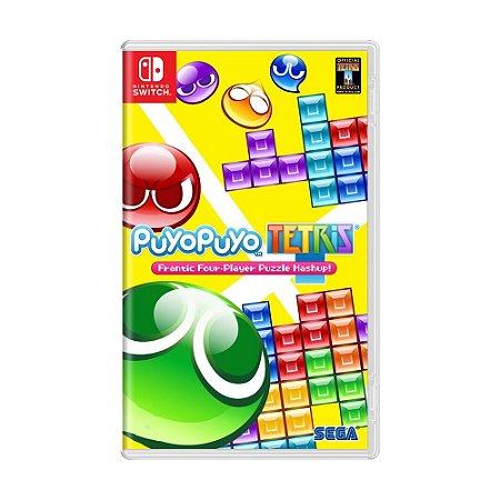 Jogo Puyo Puyo Tetris - Switch