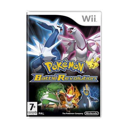Jogo Pokémon Battle Revolution - Wii (Europeu)