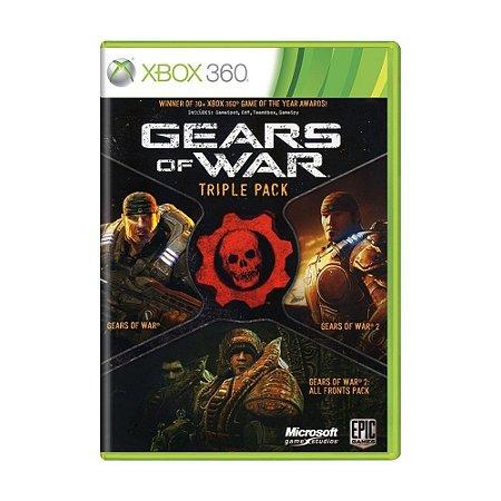 Jogo Gears of War: Triple Pack - Xbox 360 (Lacrado)