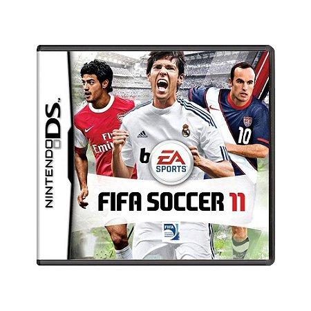Jogo FIFA Soccer 11 - DS