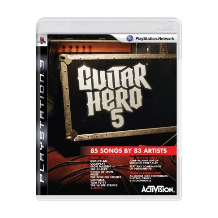 Jogo Guitar Hero 5 - PS3