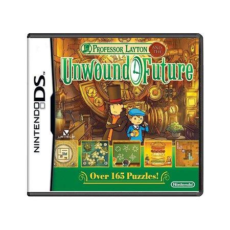 Jogo Professor Layton and the Unwound Future - DS