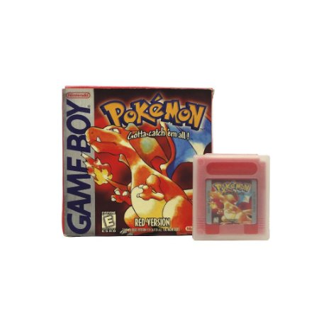 Jogo Pokémon Red Version - GBC