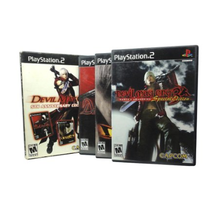 Jogo Devil May Cry (5th Anniversary Collection) - PS2