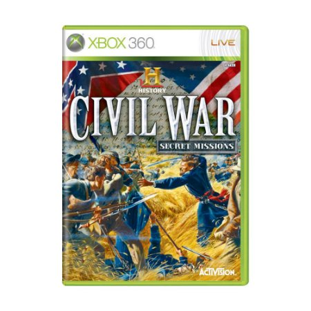 Jogo History Civil War: Secret Missions - Xbox 360