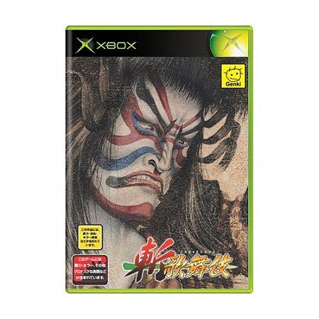 Jogo Zan Kabuki - Xbox (Japonês)
