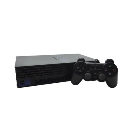 Console PlayStation 2 Fat Preto - Sony (Europeu)