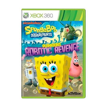 Jogo Spongebob Squarepants: Plankton's Robotic Revenge - Xbox 360