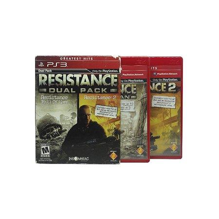 Jogo Resistance Dual Pack - PS3