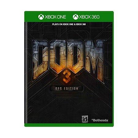 Jogo Doom 3 (BFG Edition) - Xbox One e Xbox 360