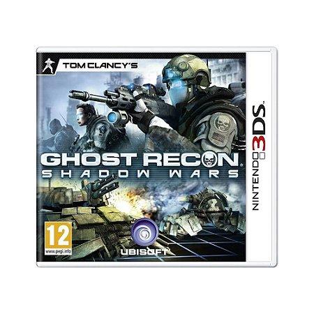 Jogo Tom Clancy's Ghost Recon: Shadow Wars - 3DS (Europeu)