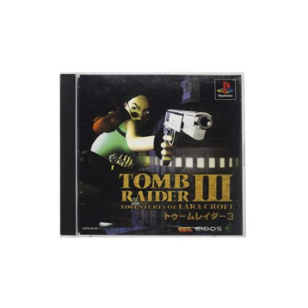 Jogo Tomb Raider III: Adventures of Lara Croft - PS1 (Japonês)