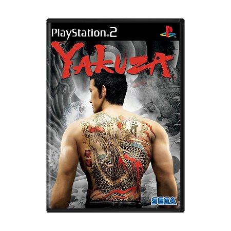 Jogo Yakuza - PS2